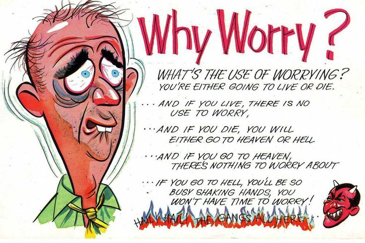 worry cartoon