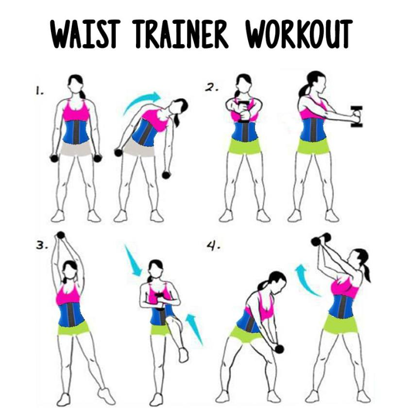 waist-trainer workout